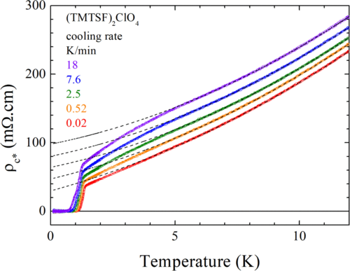 Influence of carrier lifetime on quantum criticality and superconducting Tc of (TMTSF) 2ClO4
